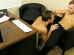 Kirk is an crazy bottom, though, and he receives Preston in a chair so this guy can back his wazoo up on his dick old men and twink sex pics at My Gay