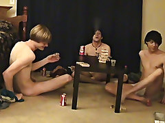 limp uncut dicks and black gay double fuck - at Boy Feast!