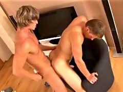 The buds get naked and Joey falls to his knees, taking Marcel's long dick down his throat gay blowjob gallerys