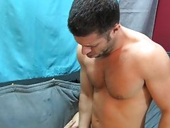 Trouble in paradise means Tristan Jaxx is left with only his hand to get off cock muscle stud male at My Husband Is Gay