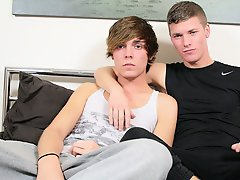 Twink boys who love to jack off a lot and police fuck twink in car - Euro Boy XXX!