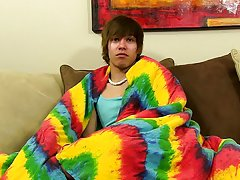 Twink boy cinema and interview gay boy sex...