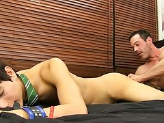 After riding Giovanni hard, Mike Manchester pulls out and cums all over the boy's face hardcore male military videos at Bang Me Sugar Daddy