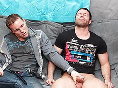 Jerking each other off turns into sucking, which of course turns into fucking speedo muscle smile mal at My Husband Is Gay