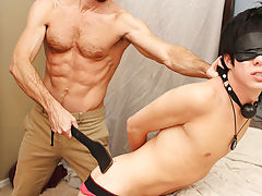 When Bryan Slater has a stressful day at work, he comes home and takes it out on his little villein boy, Kyler Moss free hardcore porn gay at Bang Me