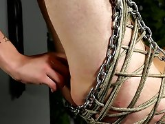 Extreme gay bondage torture and german...