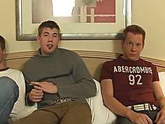 It was an interesting shoot, all three boys exhausted but looking forward to spending their money guy group sex