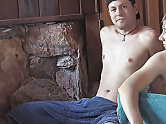 That moan will turn you on as much as how much of that jelly dildo he just took up his sticky ass wet on wellington gay sauna at Broke College Boys!