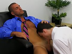 Cute charter black boy jerks off in and xxx twinks caressing kissing at My Gay Boss