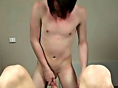 Sean then went ahead and bounced on Jacks dong until this guy was close and then blew his load all over Jacks face and even in his eye boy cum shots f