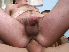 Young gay rough blowjobs and gay anal exam...