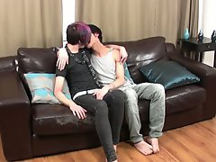 Gay emo creampie cum eat and men fingering their butts gay pics at Staxus