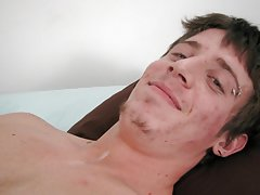 Twink food fetish and gay guys getting physical from straight doctors