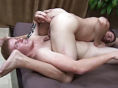 Daddy spanks young twinks and straight black man fucks his twin brother porn