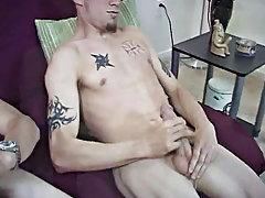Gay group sex men and group masturbation guys