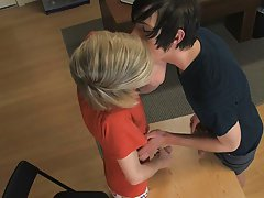 Twink strapons and hot twinks with dick at Teach Twinks