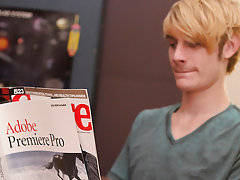 Preston Andrews is reading up on homosexual sex instead of studying and when Trevor Bridge catches him, he is determined to train the twink a thing or