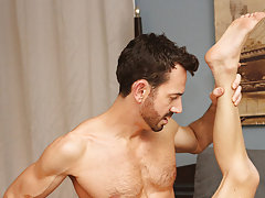 Gay anal dildo toy pics and licking cum...