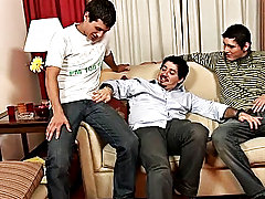 Soon the three exploded in an insane orgasm latino gay perals