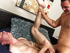 Naked black twink pic and gay blowjob bondage photos sex