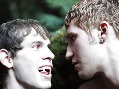 Under candlelight, Egan gets things started first gay sex jamie - Gay Twinks Vampires Saga!