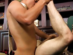 Men shaving hair twink and black gay anal bondage at My Gay Boss