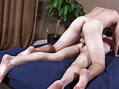 Sure enough, Rex spurted just a little but still kept his hard on as this chab drilled himself on Jimmy's cock free gay blowjob mpegs