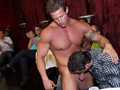 Outdoor group gay sex fuck and group gay...
