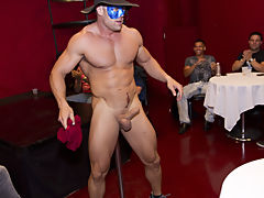 Gay group circle jerk off and one guy sex group at Sausage Party