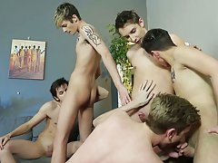 Gay twink ass and first time gays at Staxus