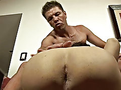 The twink was working systematic on the cock while his partner reached for his tight spicy ass which soon got packed with dick which led the hunk to c