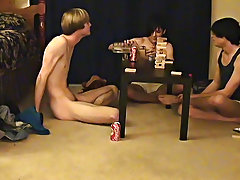 &quot; This is a long clip for you voyeur types who like the idea of watching these guys acquire naked, drink, talk and play obscene games stories of 