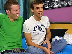 Naked gay teenage twinks having sex at a...