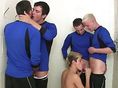 Emo facial big cock and gay athletic hairy...