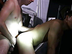 Man when these guy's break in pledges they really break them in...lol group male masturbation
