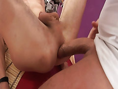Men group masturbation and group gay anal...