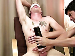 With the blindfold on that guy had no idea what had just enclosed his cock, but this chab did know that it felt good