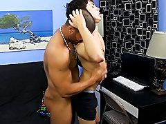 Mentally disabled gay men fucking wanking...