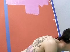Emo boys ass lick and two black hood men wanking together at Boy Crush!