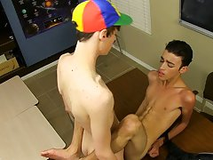 Twinks abuse straight guys and young twink prostate massage at Teach Twinks