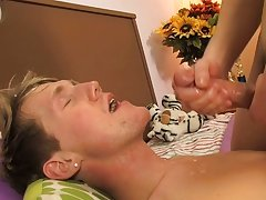 Josh fucks a very noisy Hayden all over the bed before straddling his chest, squirting cum clear over his face free gay twink galleries