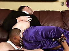 Jordano slipped that ultra-realistic anal sheath exceeding his immense cock and discovered that he liked the feel of ass so much, he wanted to try out