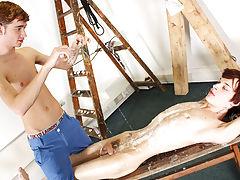 Gay men nipple fetish website and hardcore male masturbation porn galleries - Boy Napped!