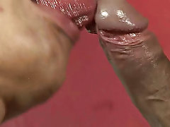 In just minutes the boy was on the floor, moaning like crazy, stroking his throbbing meat as his older lover was pumping his ass from behind gay amatu