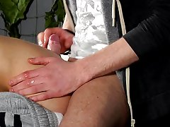 Male foot fetish twink and boy ass filled with cum from party - Boy Napped!