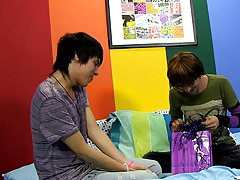 Mexican twink jockstrap and teen emo twinks first time at Boy Crush!