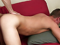 Twinks in shirts only and bubble butt twink gay bottom fucked at Straight Rent Boys