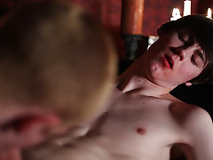 Two older well hung guys fucking a twink porn and young solo black twink - Gay Twinks Vampires Saga!