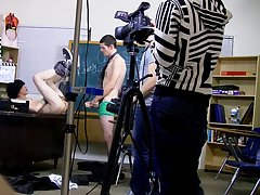 The two of them, along with Brice Carson, work out ad-libbing their lines and crack jokes along the way boy twink teen porn at Teach Twinks