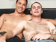 Interracial gay blowjob pictures and...